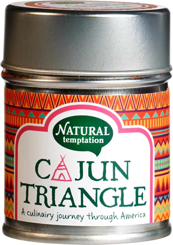 Biologische Natural Temptation Cajun triangle kruidenmix 50 gr