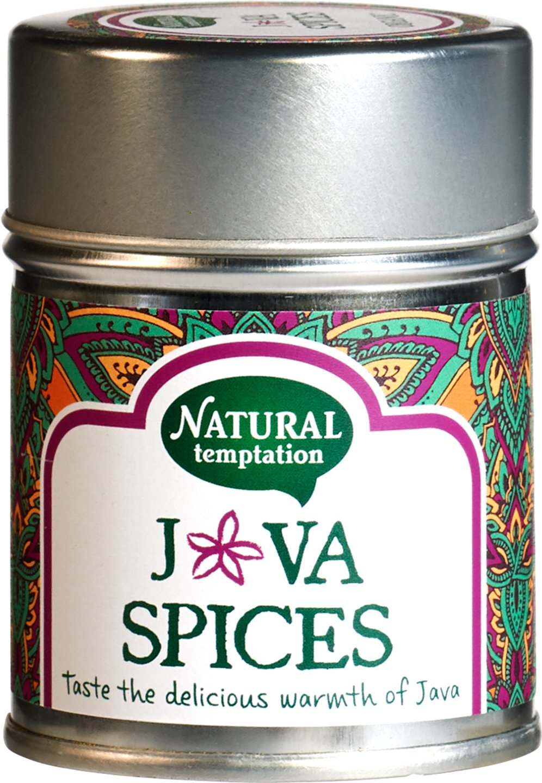 Biologische Natural Temptation Java spices kruidenmix 55 gr