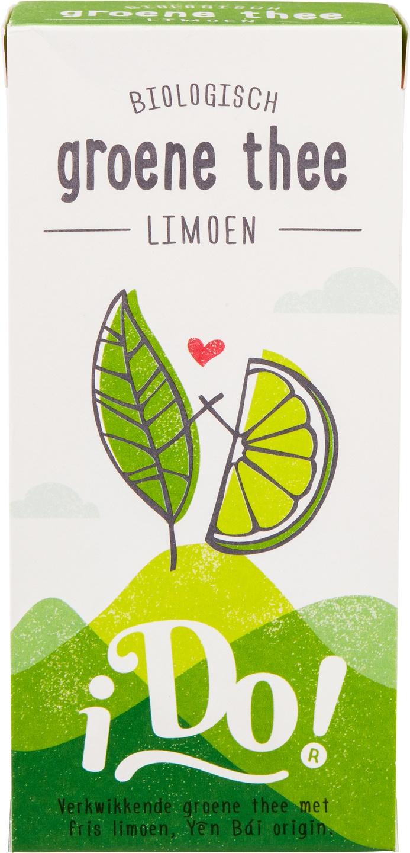 Biologische i Do! Groene thee limoen 20 builtjes