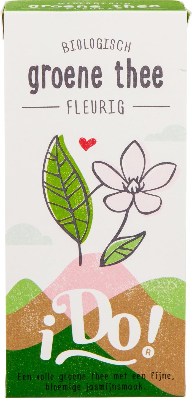 Biologische i Do! Groene thee fleurig 20 builtjes