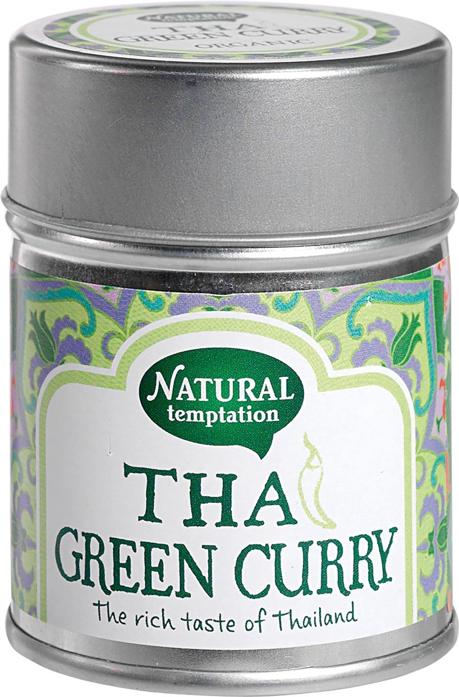 Biologische Natural Temptation Thai green curry 35 gr