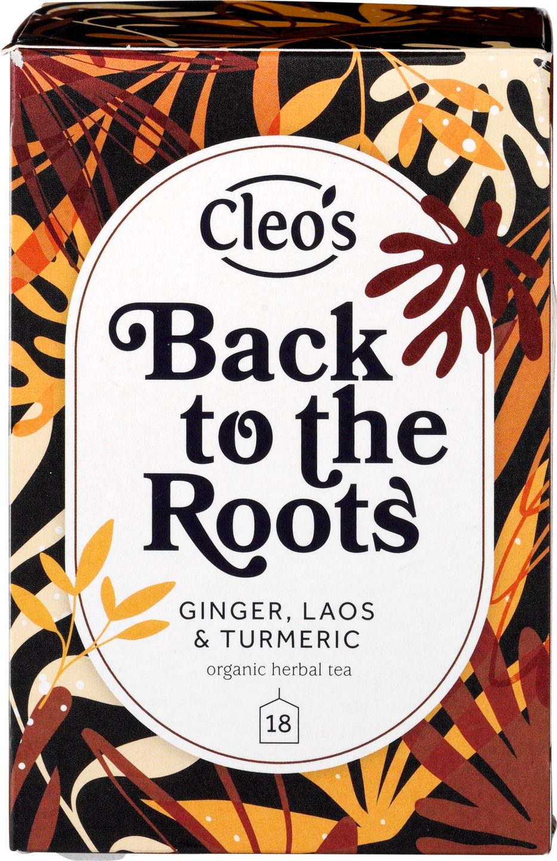 Biologische Cleo's Kruidenthee back to the roots 18 builtjes