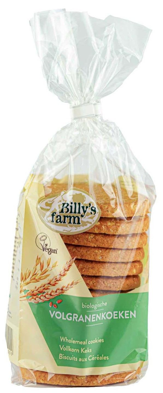 Biologische Billy's Farm Volgranenkoeken 250 gr