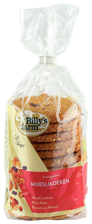 Biologische Billy's Farm Mueslikoeken 250 gr