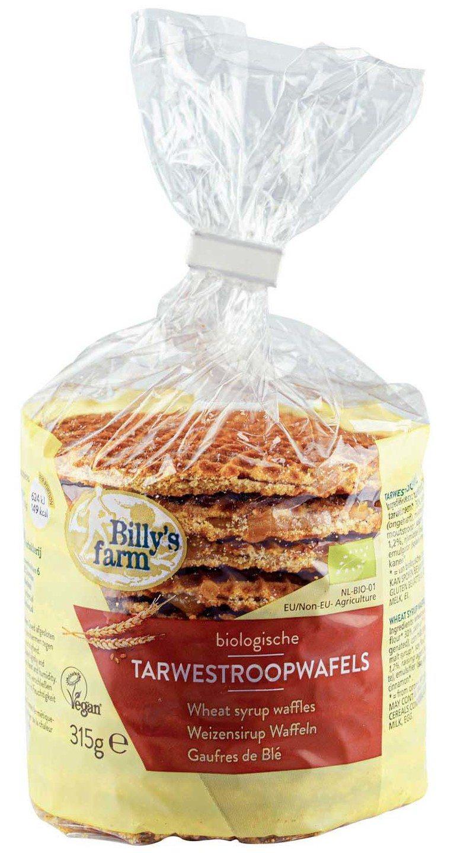 Biologische Billy's Farm Tarwestroopwafels 315 gr