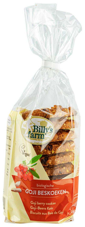 Biologische Billy's Farm Goji Berry Cookies 200 gr