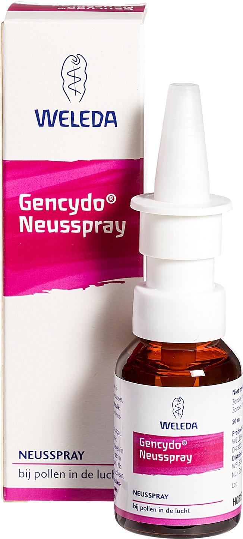 Biologische Weleda Gencydo neusspray 20 ml