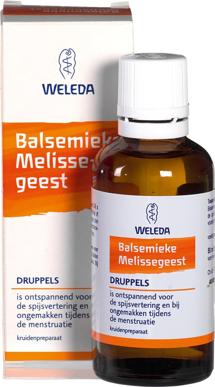 Biologische Weleda Balsemieke melissegeest druppels 50 ml