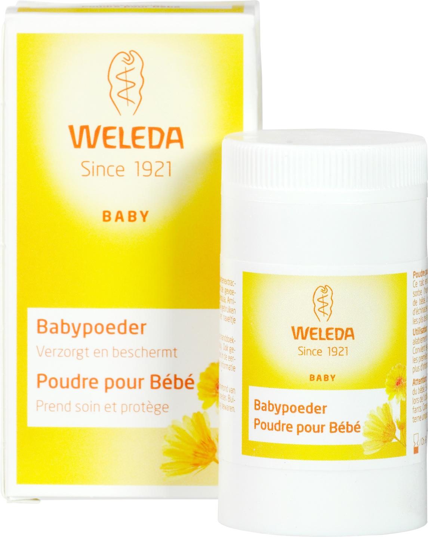 Biologische Weleda Weledea babypoeder 20 gr
