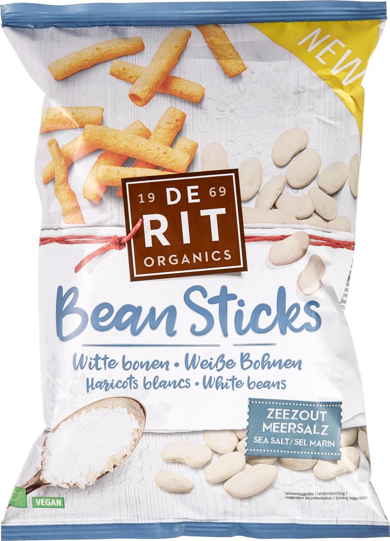 Biologische De Rit Beansticks zeezout 75 gr