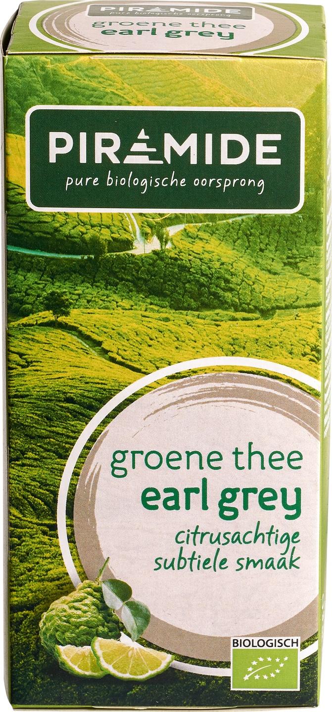 Biologische Piramide Groene thee earl grey 20 builtjes