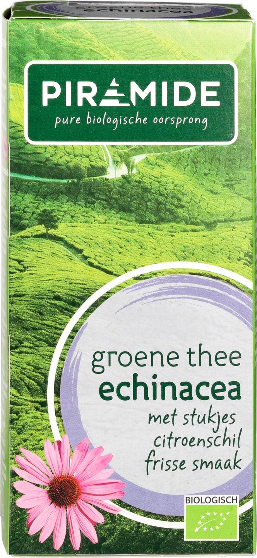 Biologische Piramide Groene thee echinacea 40 gr