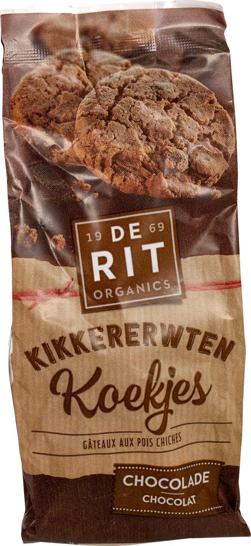 Biologische De Rit Kikkererwtenkoek chocolade 150 gr