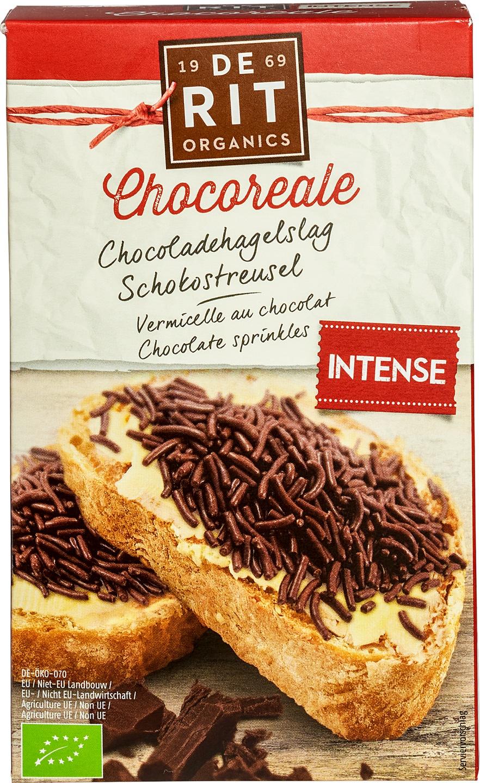 Biologische De Rit Chocoladehagelslag puur 32% 225 gr