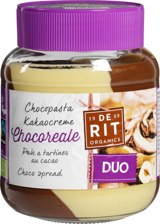 -24% SALE   Biologische De Rit Chocoreale pasta duo 350 gr
