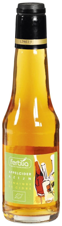 Biologische Fertilia Appelciderazijn helder 250 ml