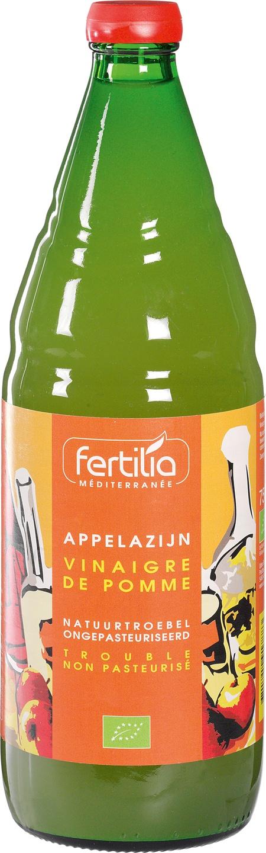 Biologische Fertilia Appelazijn natuurtroebel 750 ml