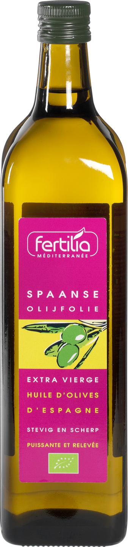 Biologische Fertilia Olijfolie extra vierge Spaans 1 L