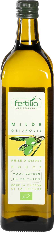 Biologische Fertilia Olijfolie mild Spaans 1 L