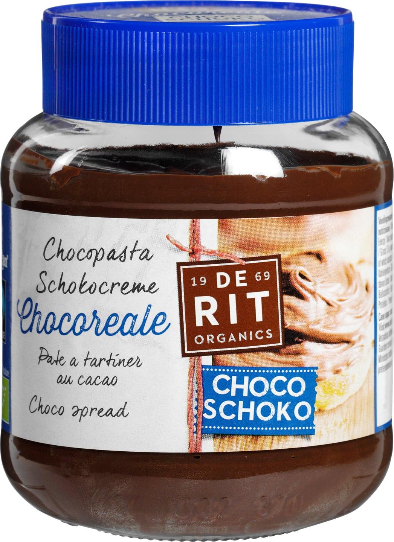 -24% SALE   Biologische De Rit Chocoreale chocopasta 350 gr