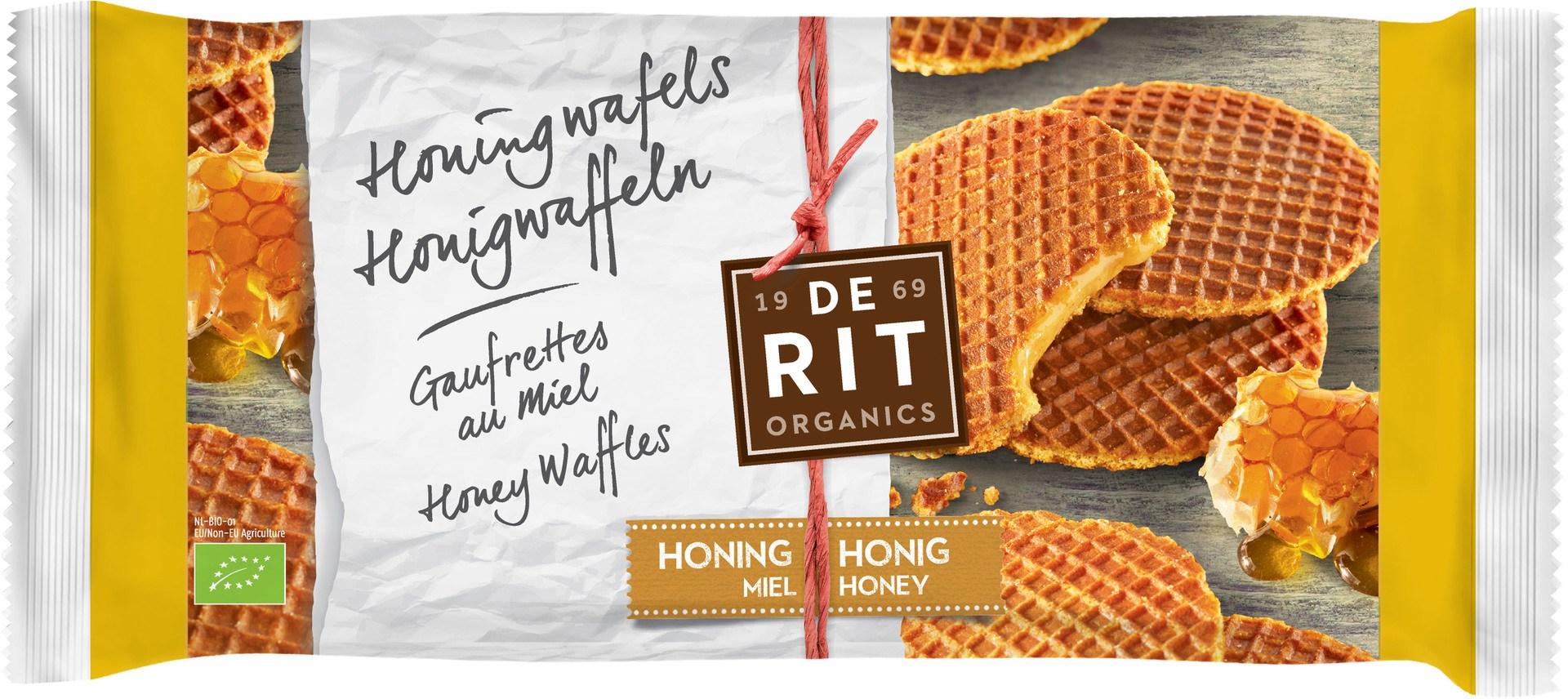 Biologische De Rit Honingwafels 175 gr