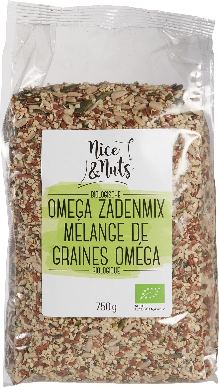 Biologische Nice&Nuts Omega Zadenmix 750 gr