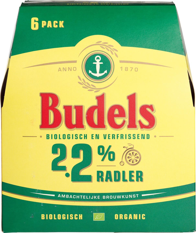 Biologische Budels Radler 6-pack 6 st