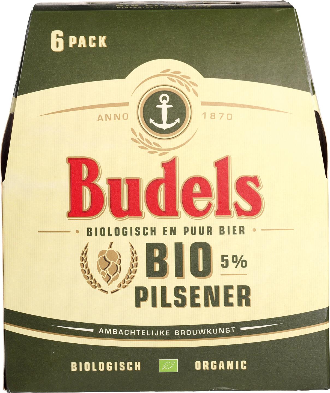 Biologische Budels Pilsener 6-pack 6 st