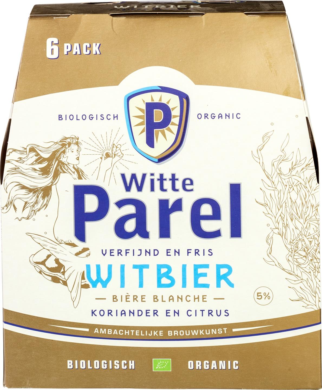 Biologische Budels Witte Parel 6-pack 6 st