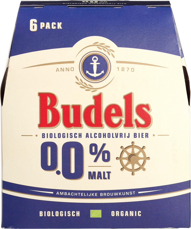 Biologische Budels Malt 0.0% 6-pack 6 st
