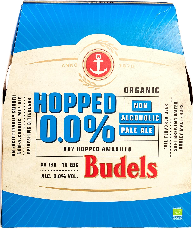 Biologische Budels Hopped 0.0% 6 st