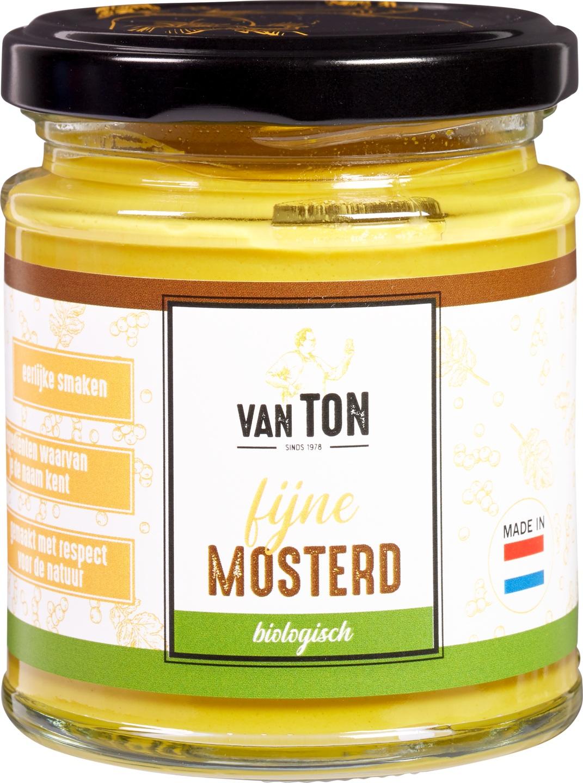 Biologische van TON Mosterd fijn 170 gr