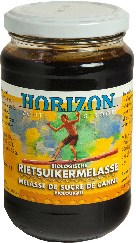 Biologische Horizon Rietsuikermelasse 450 gr