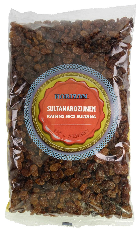 Biologische Horizon Rozijnen sultana 1 kg
