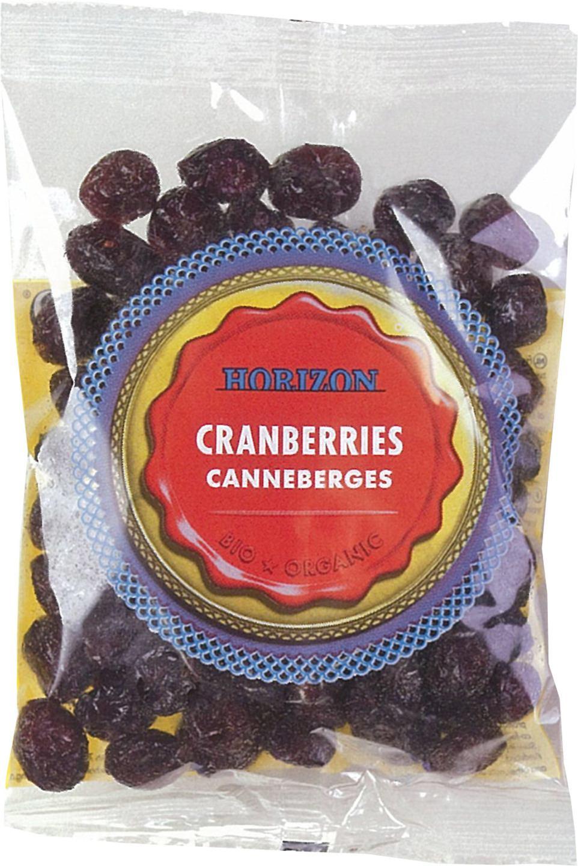 Biologische Horizon Cranberries 100 gr
