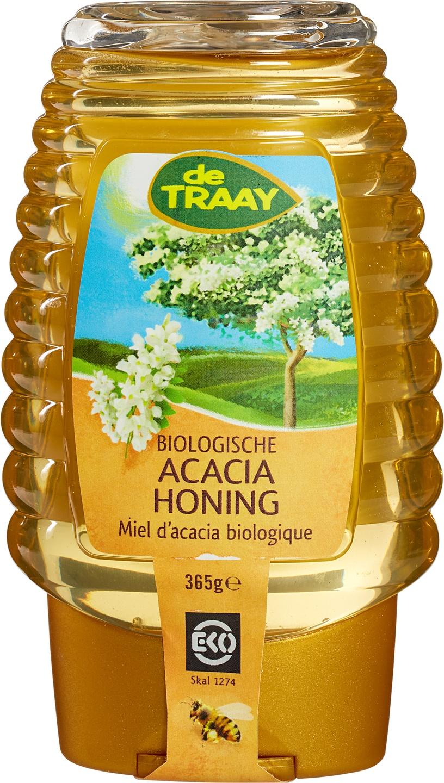-20% SALE | Biologische De Traay Acaciahoning knijpfles 375 gr