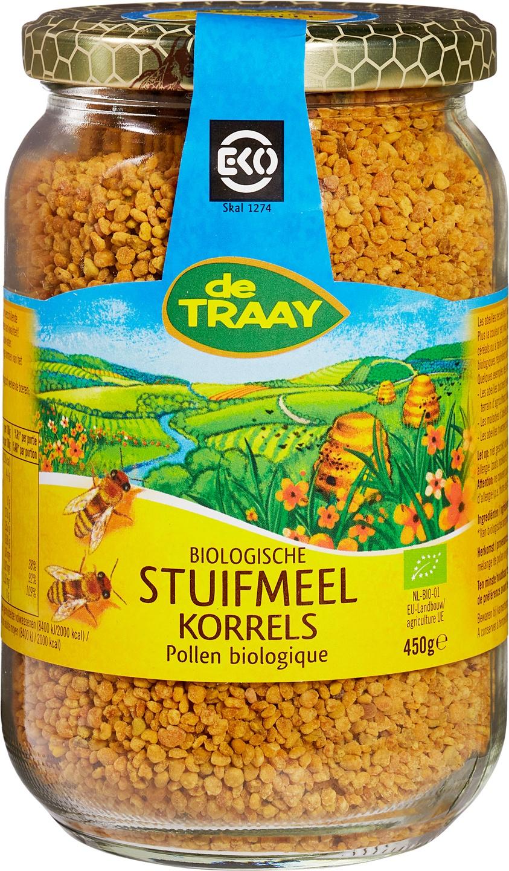 Biologische De Traay Stuifmeel korrels 450 gr