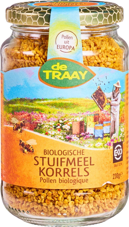 Biologische De Traay Stuifmeel korrels 230 gr