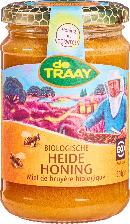 -20% SALE | Biologische De Traay Heidehoning 350 gr