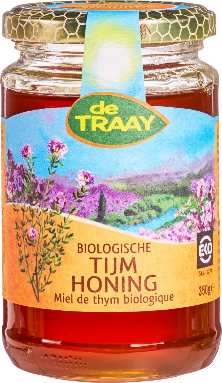 Biologische De Traay Tijmhoning 350 gr