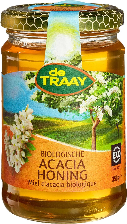 Biologische De Traay Acaciahoning 350 gr