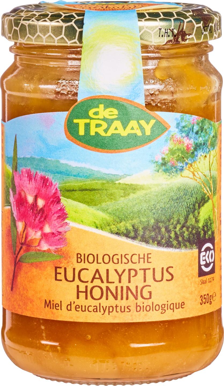 Biologische De Traay Eucalyptushoning 350 gr