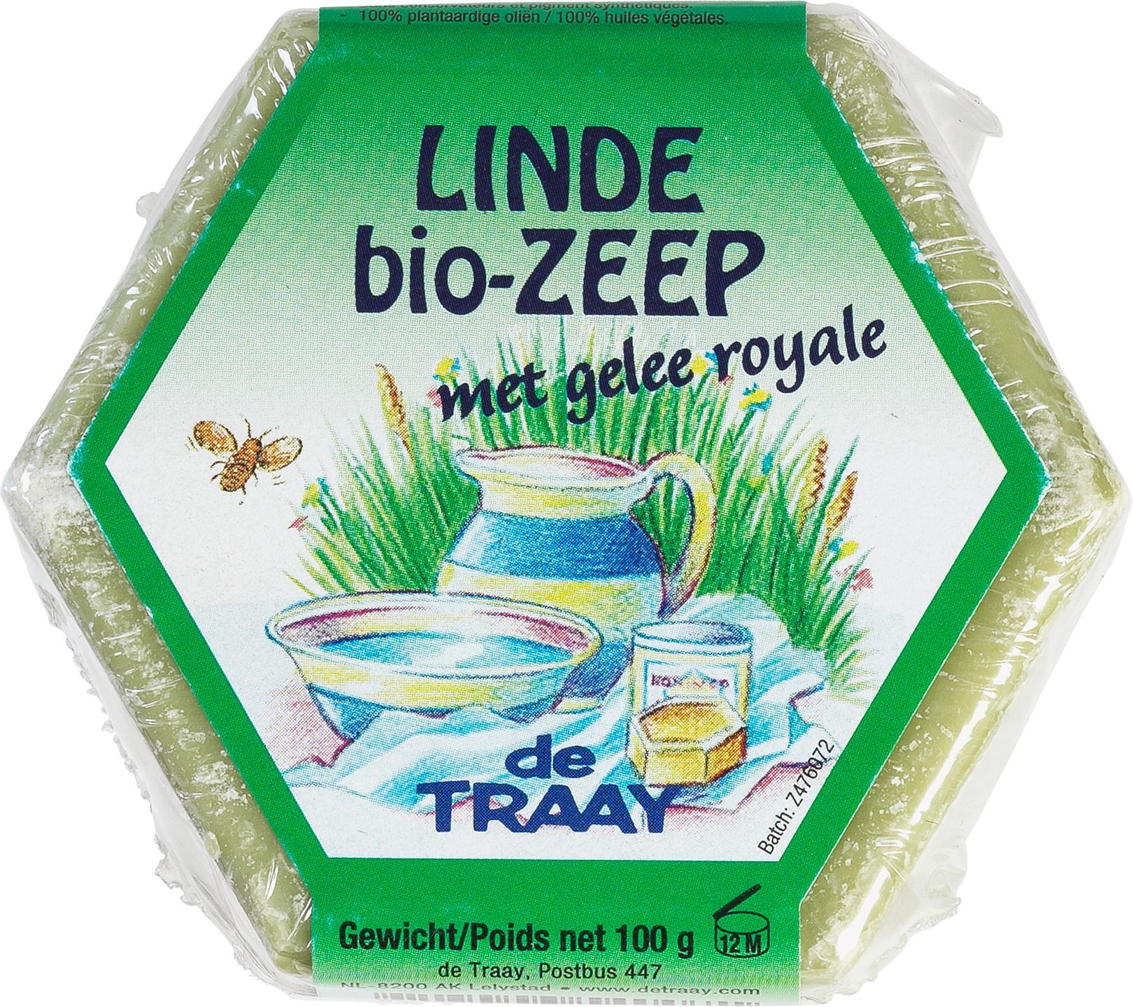 Biologische De Traay Zeeplblok linde 100 gr