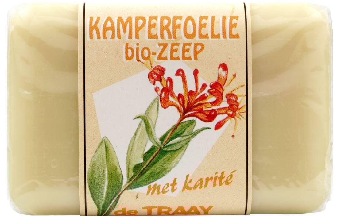 Biologische De Traay Kamperfoelie zeep met rozemarijn 250 gr