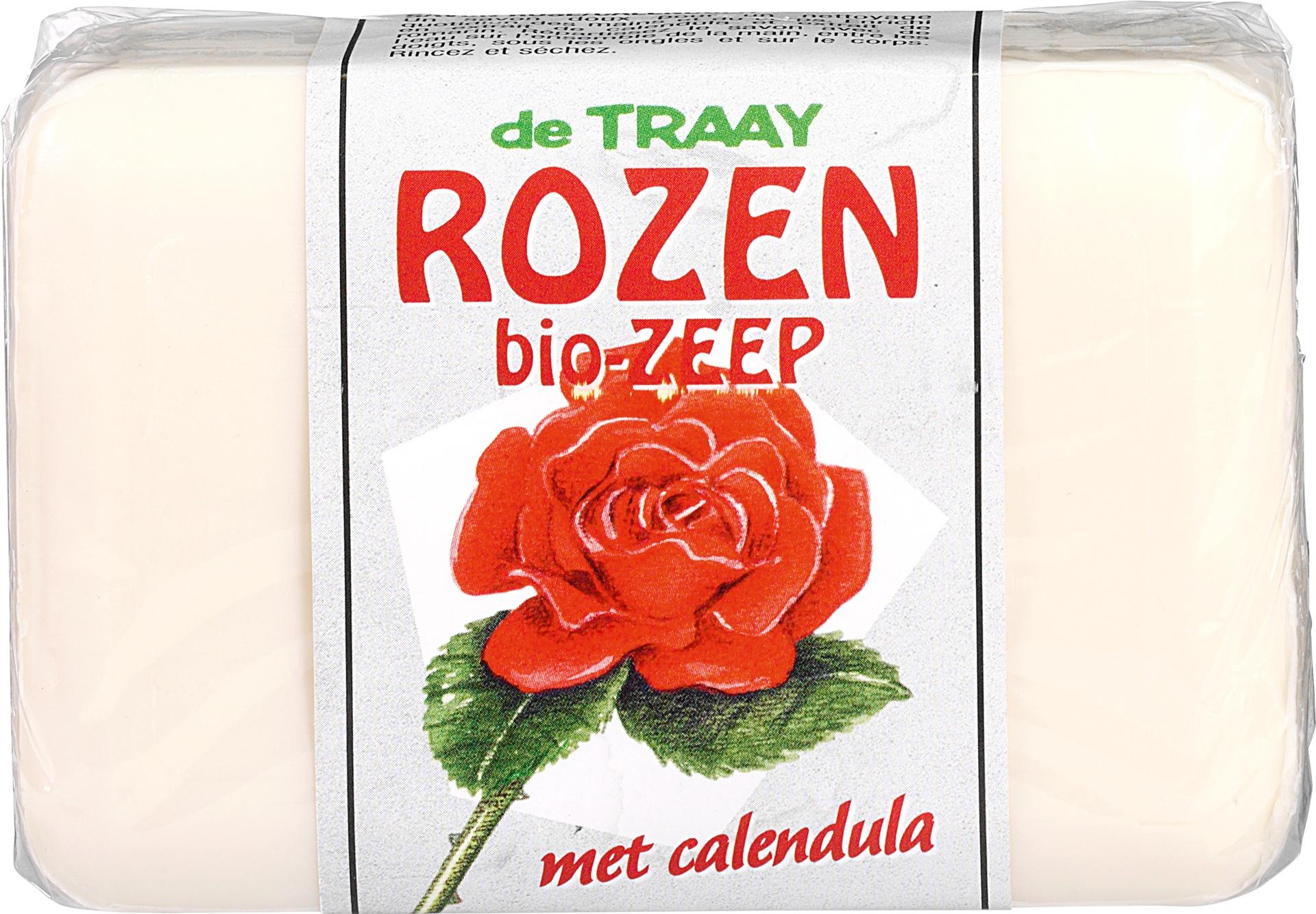 Biologische De Traay Rozen zeep met calendul 250 gr
