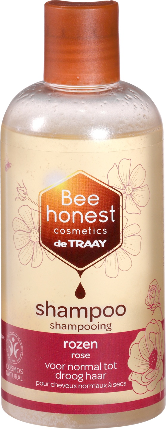 Biologische Bee honest cosmetics Shampoo rozen 250 ml