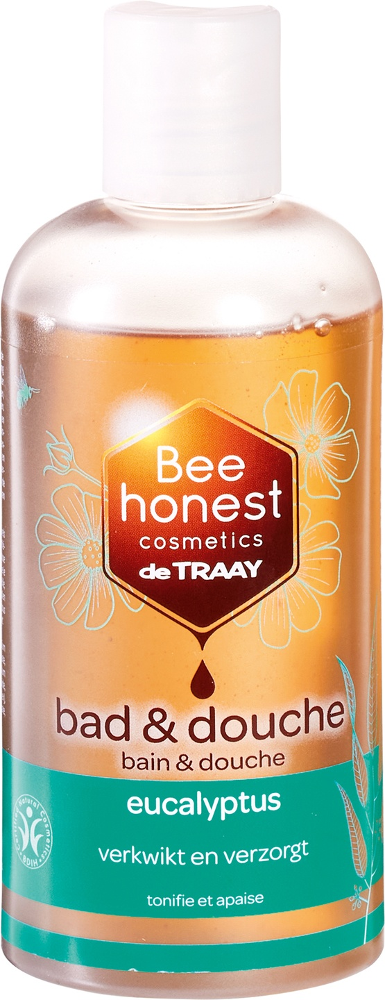 Biologische Bee honest cosmetics Bad & douche eucalyptus 250 ml