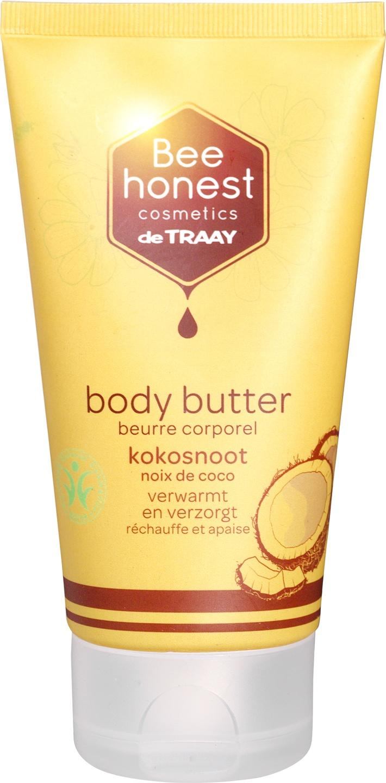 Biologische Bee honest cosmetics Bodybutter kokos 150 ml