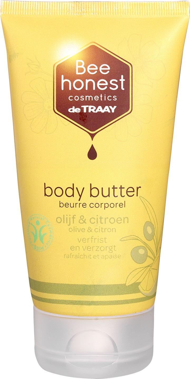 Biologische Bee honest cosmetics Bodybutter olijf & citroen 150 ml