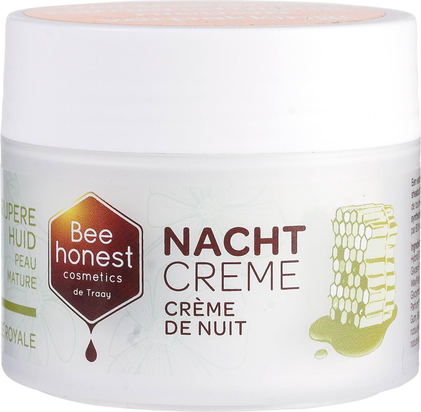 -20% SALE   Biologische Bee honest cosmetics Nachtcrème - rijpere huid 50 ml